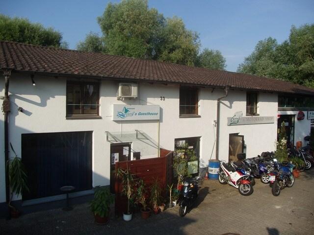 Unser Guesthouse im Konstanzer Industriegebiet