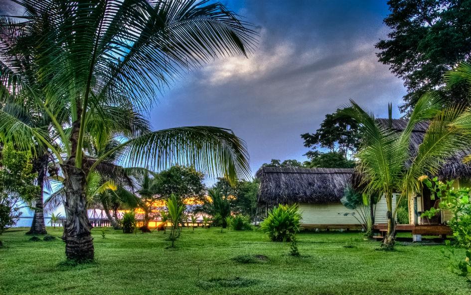 Sunrise over the Cabanas