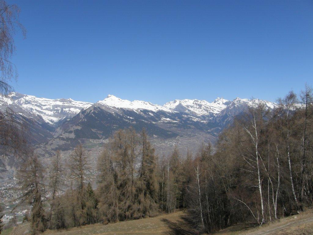 Op 1300 meter hoogte met een fantastisch uitzicht op Rhonedal