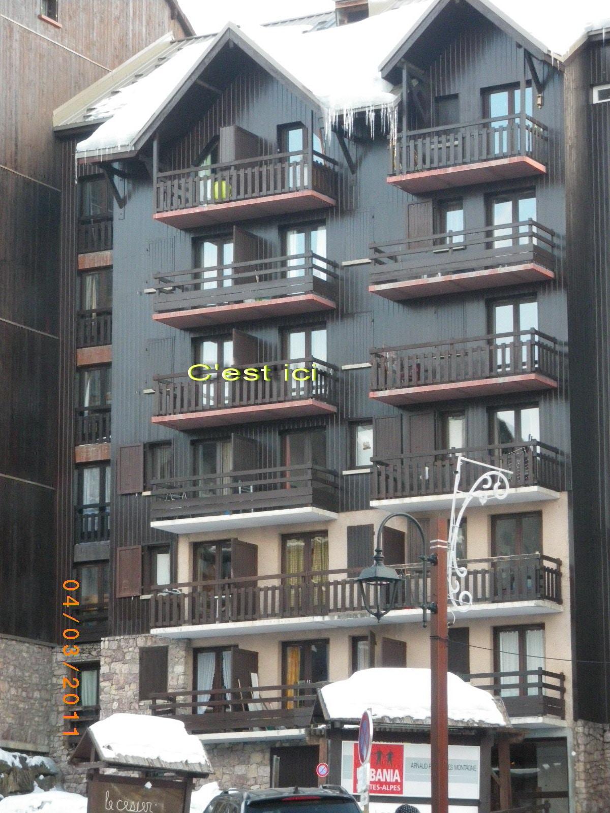appartement 4 pers pied de pistesHG