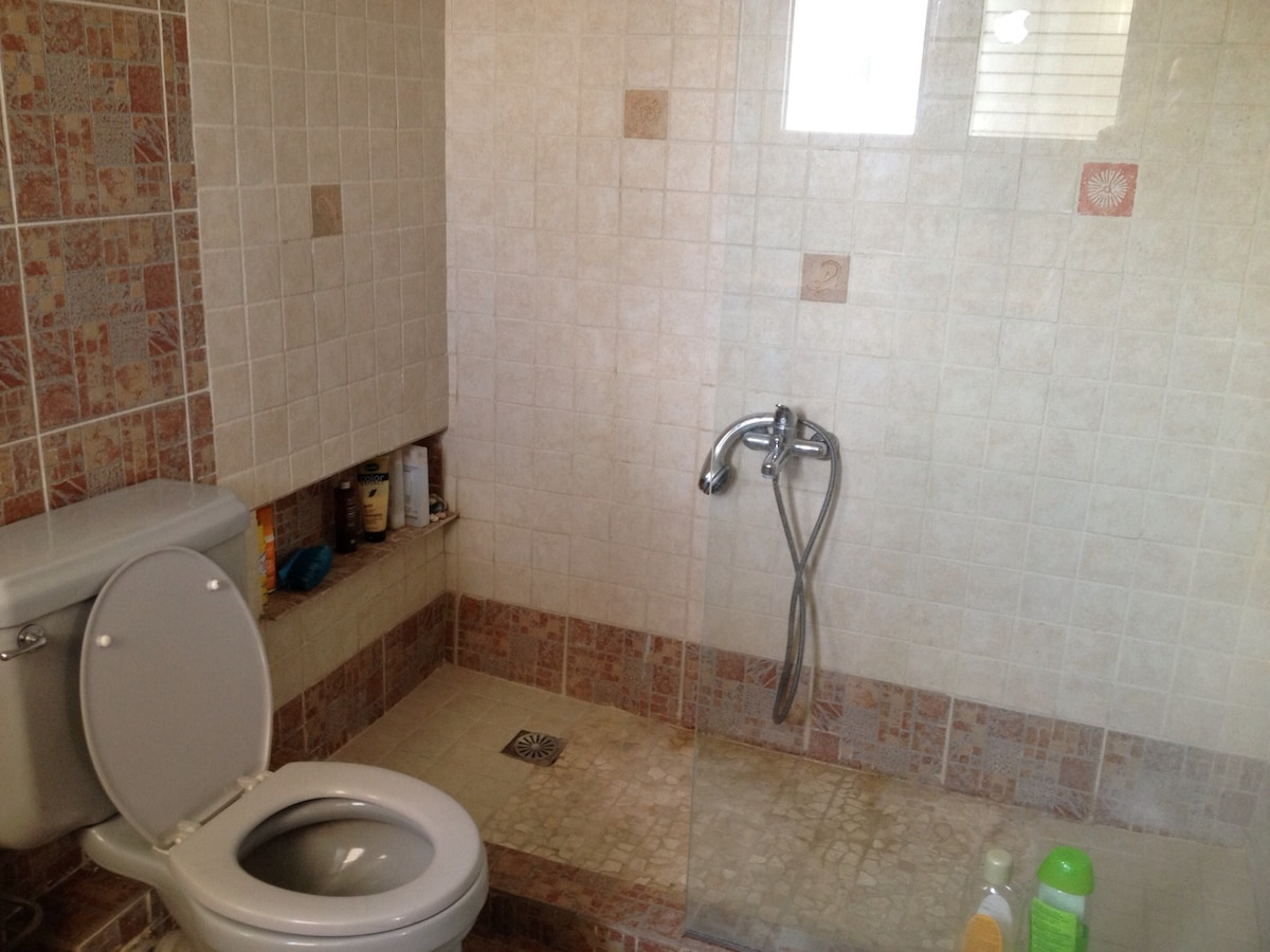 Spacious bathroom. My Tajmahal.