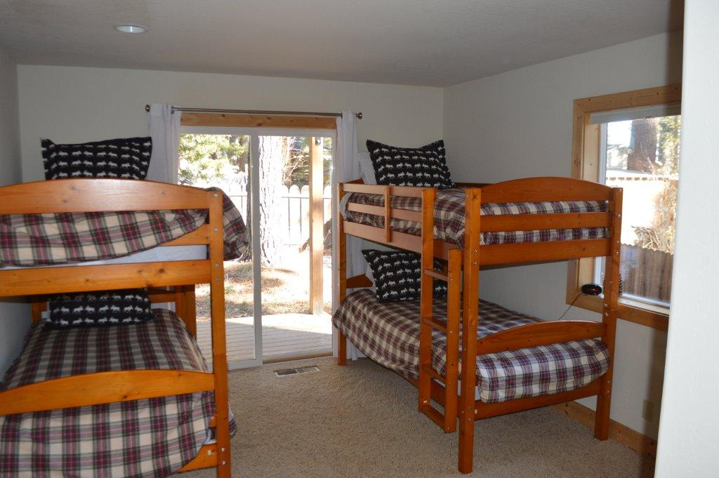 The kids love the bunk room and Moose pillows