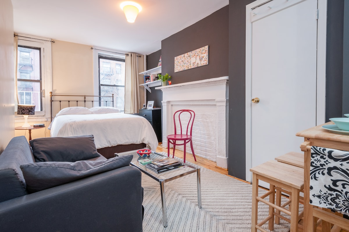 Charming&Bright Studio in Downtown