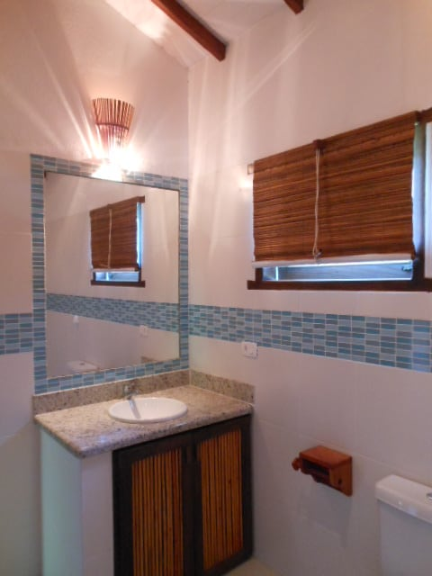Bathroom with toilettes