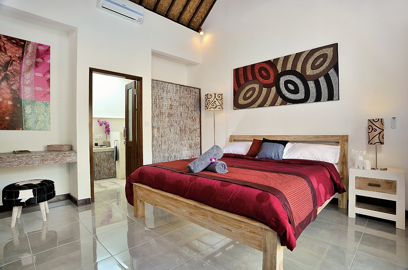 Spacious bedrooms with king size beds