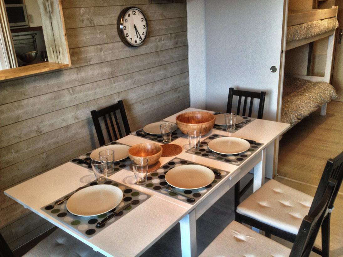 Salon salle à manger modulable