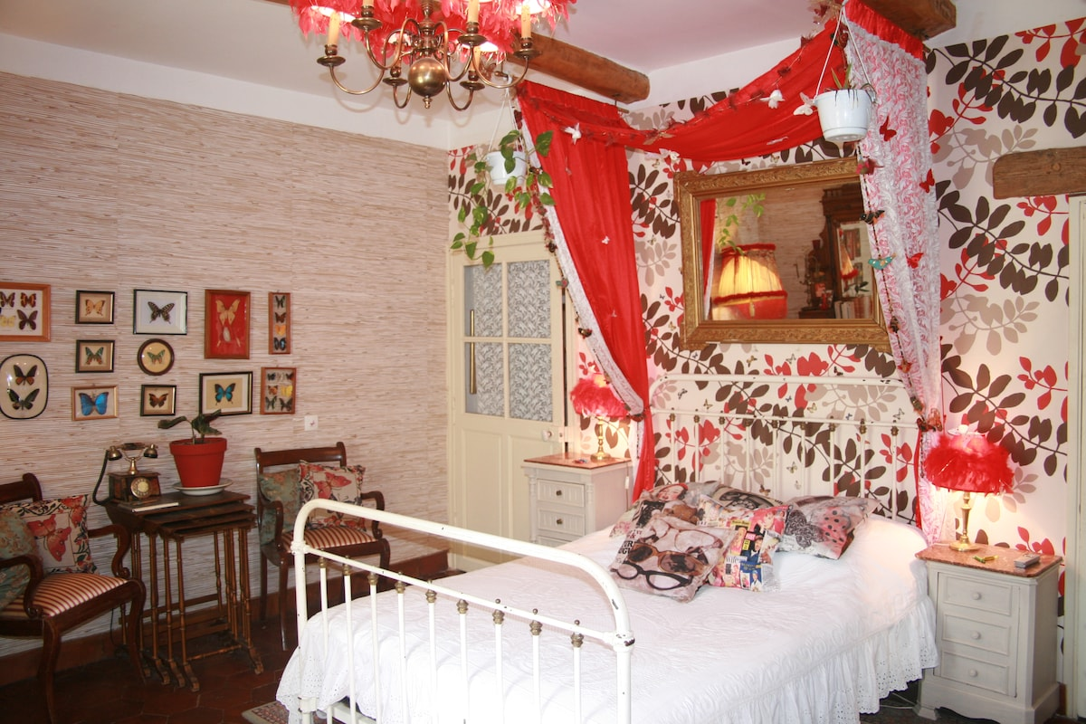 Bed&Breakfast Battement d'Elle Room