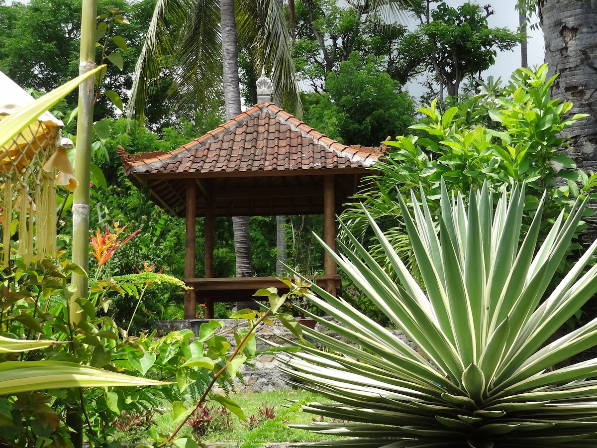 NEW: relaxing area in the pagoda