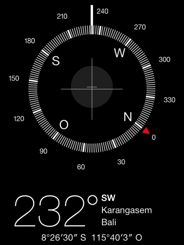The coordinates