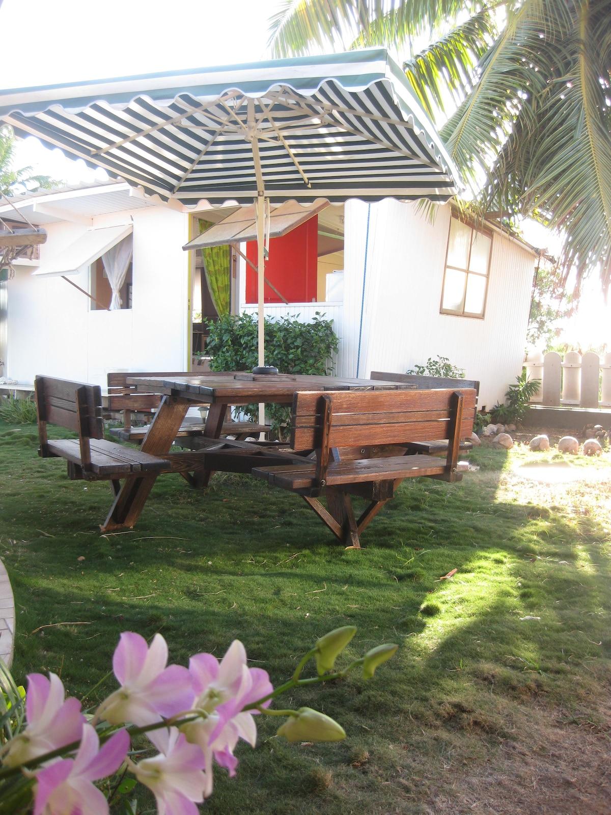 Iaorana in My Little Fare, Papeete