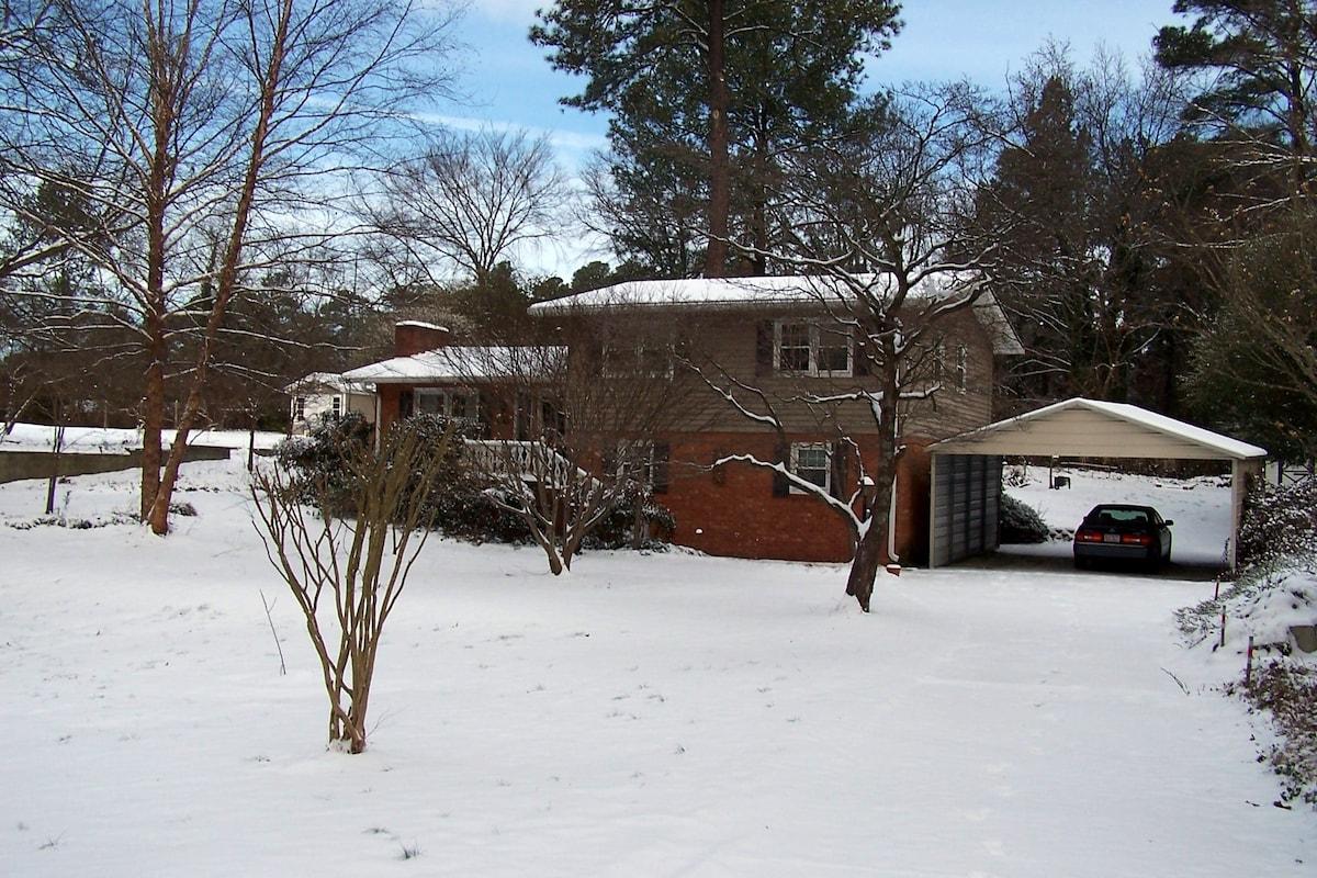 3 inch snowfall January 2014