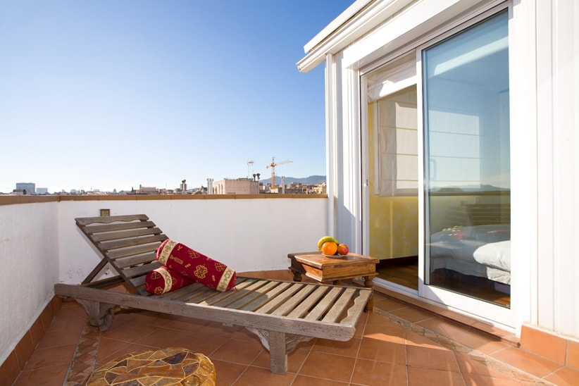 Gaudi Penthouse with private terrac
