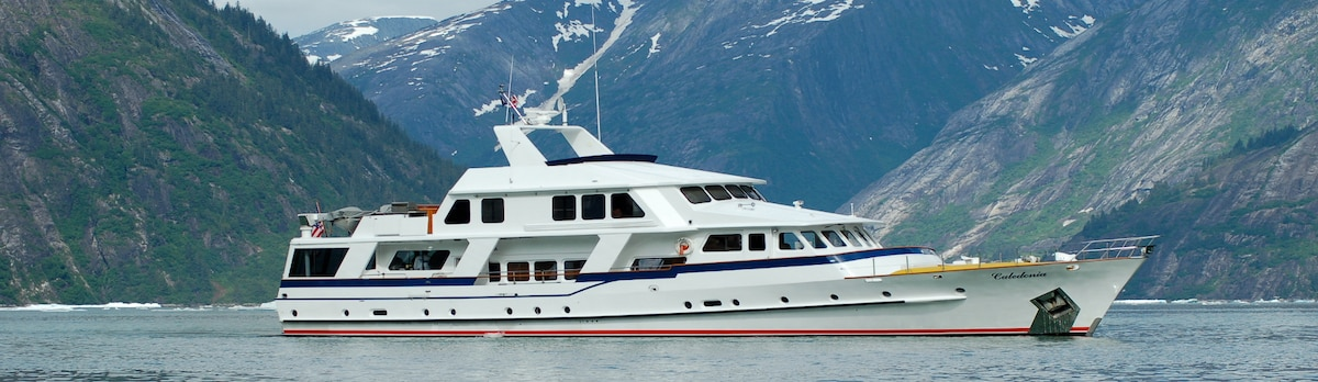 See Alaska in Luxury with VIP ALASKA EXPERIENCES on 95 ft Yacht Caledonia