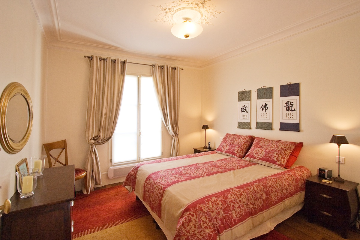 Bedroom with king size bed!