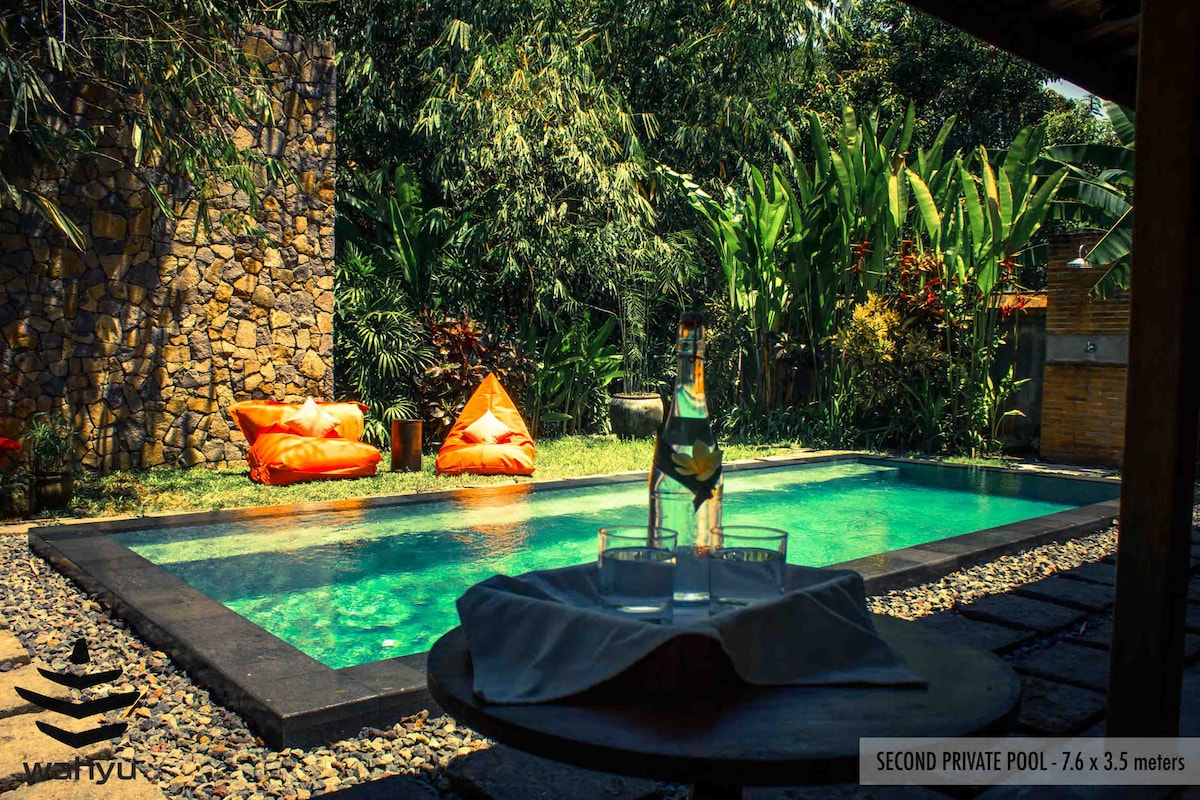 Beautiful Wahyu Joglo Pool Seminyak