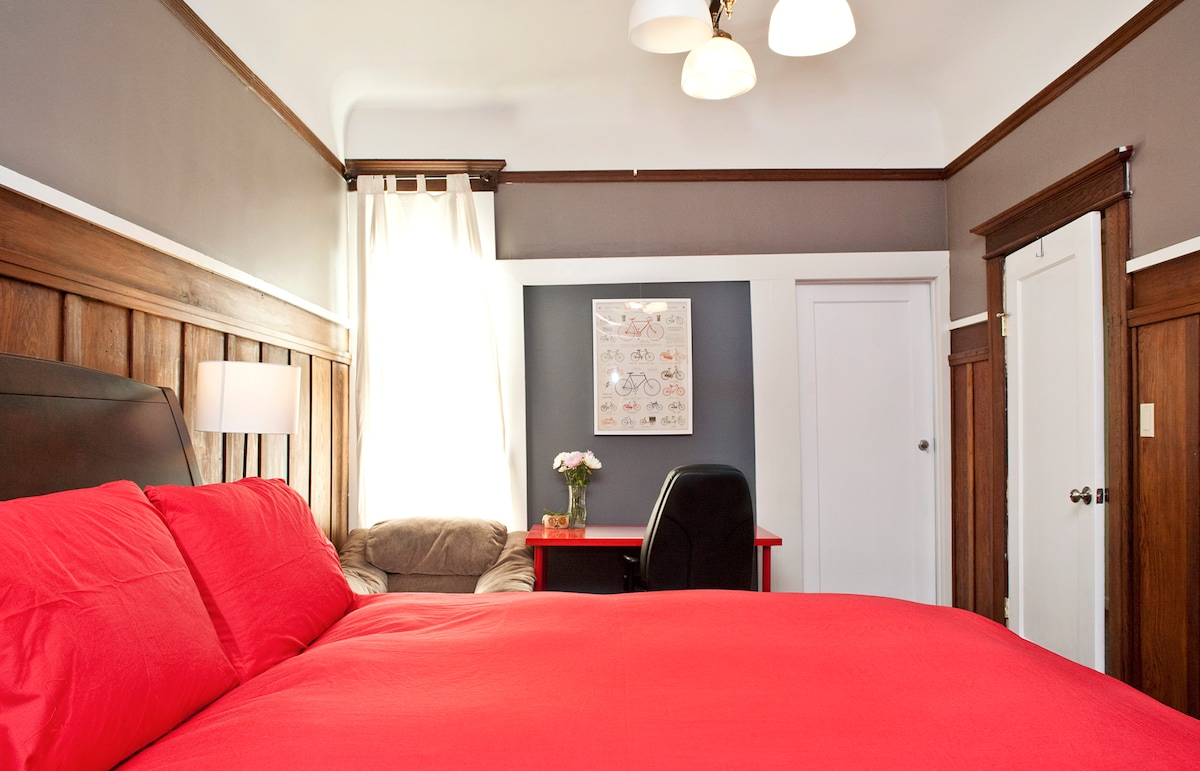 Large 1BR in Mission Victorian