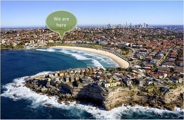 Convenient, tranquil BONDI BEACH
