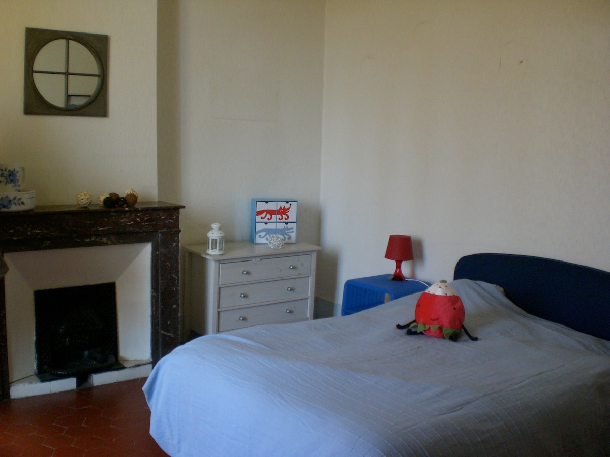 Chambre bleue (lit 140)