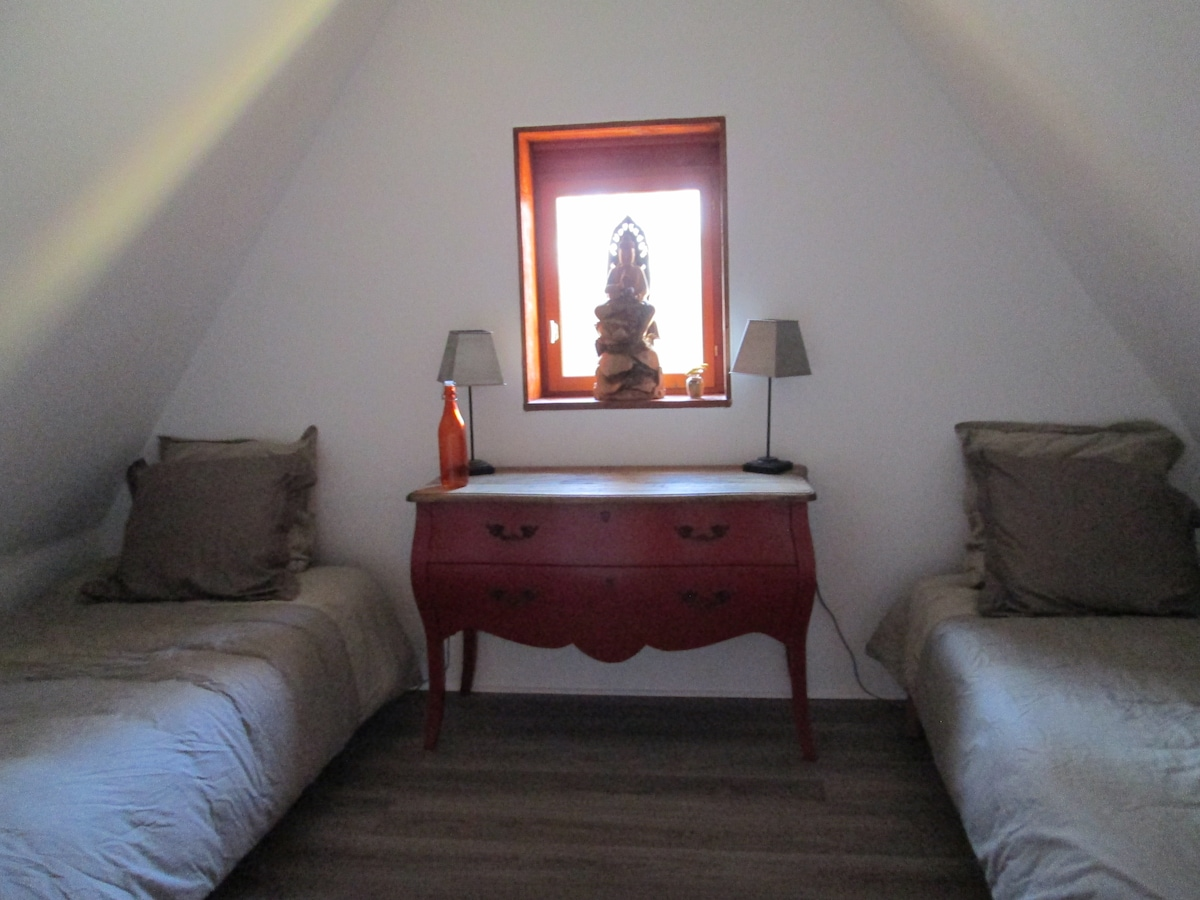 Simple, comfortable accommodation for 1 or 2 people.