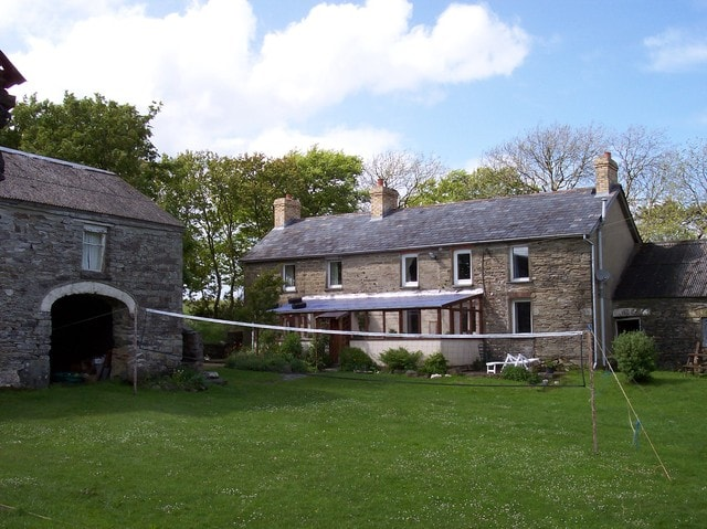 The House-we are always up for volleyball in the summer. badminton too.