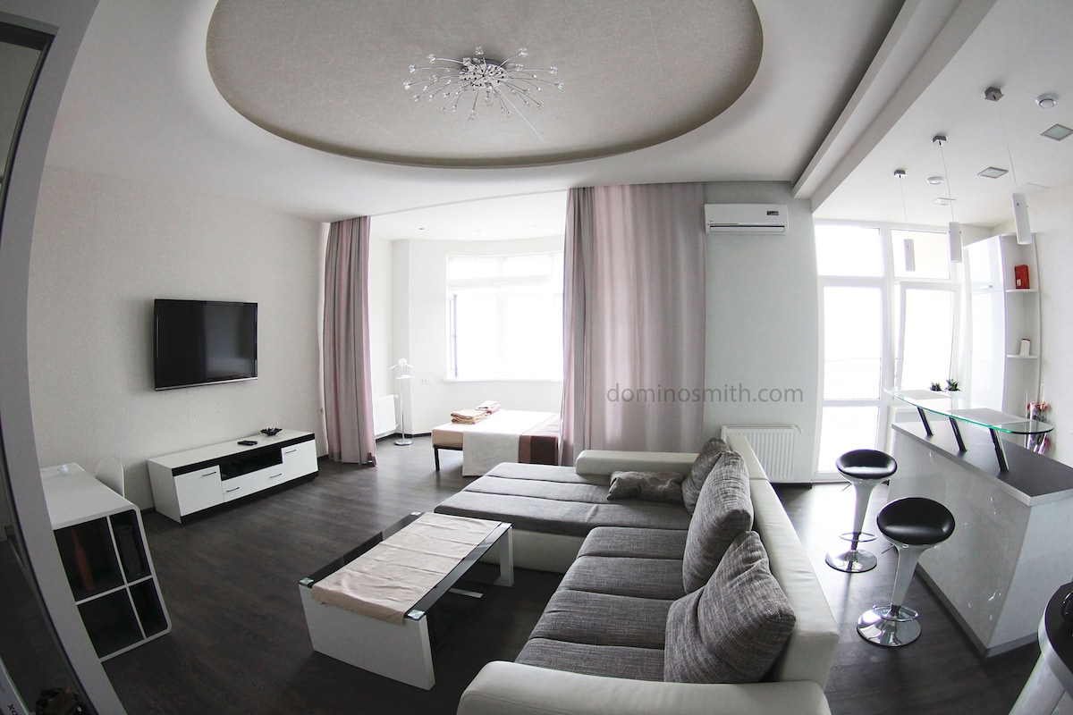 Sea front apartament in city centre