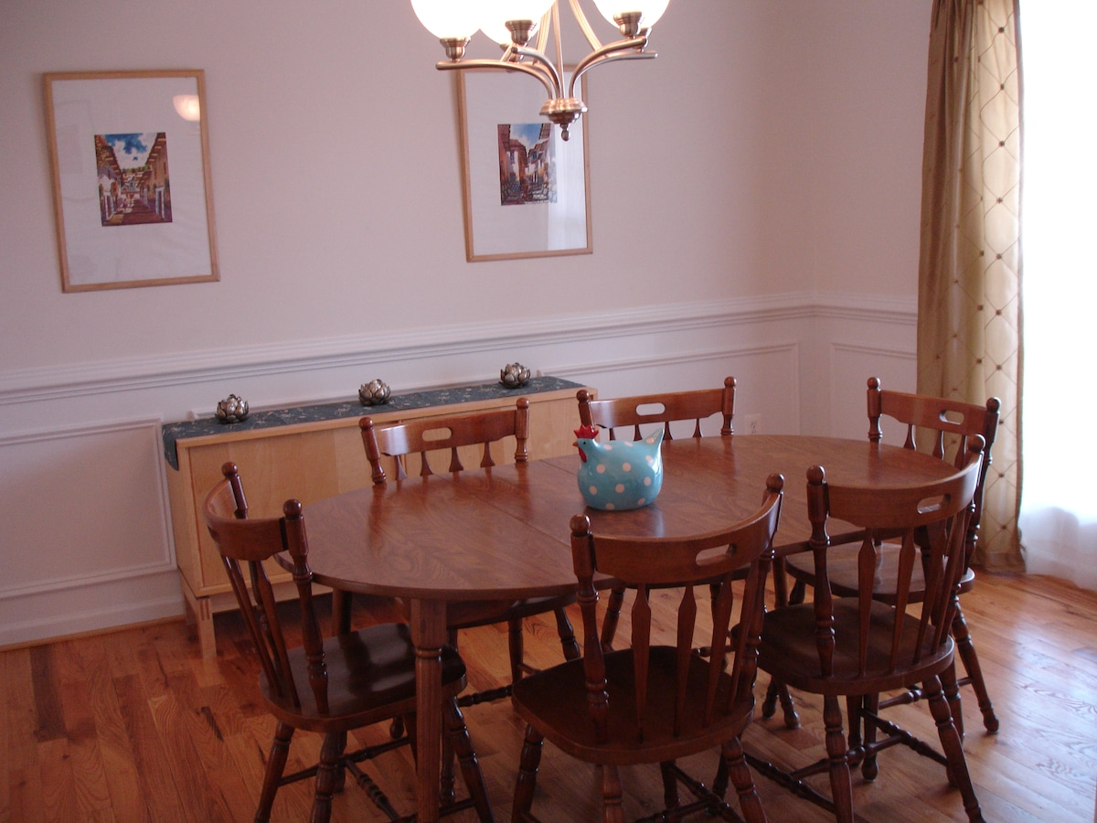 Dining Room, next to Kitchen.