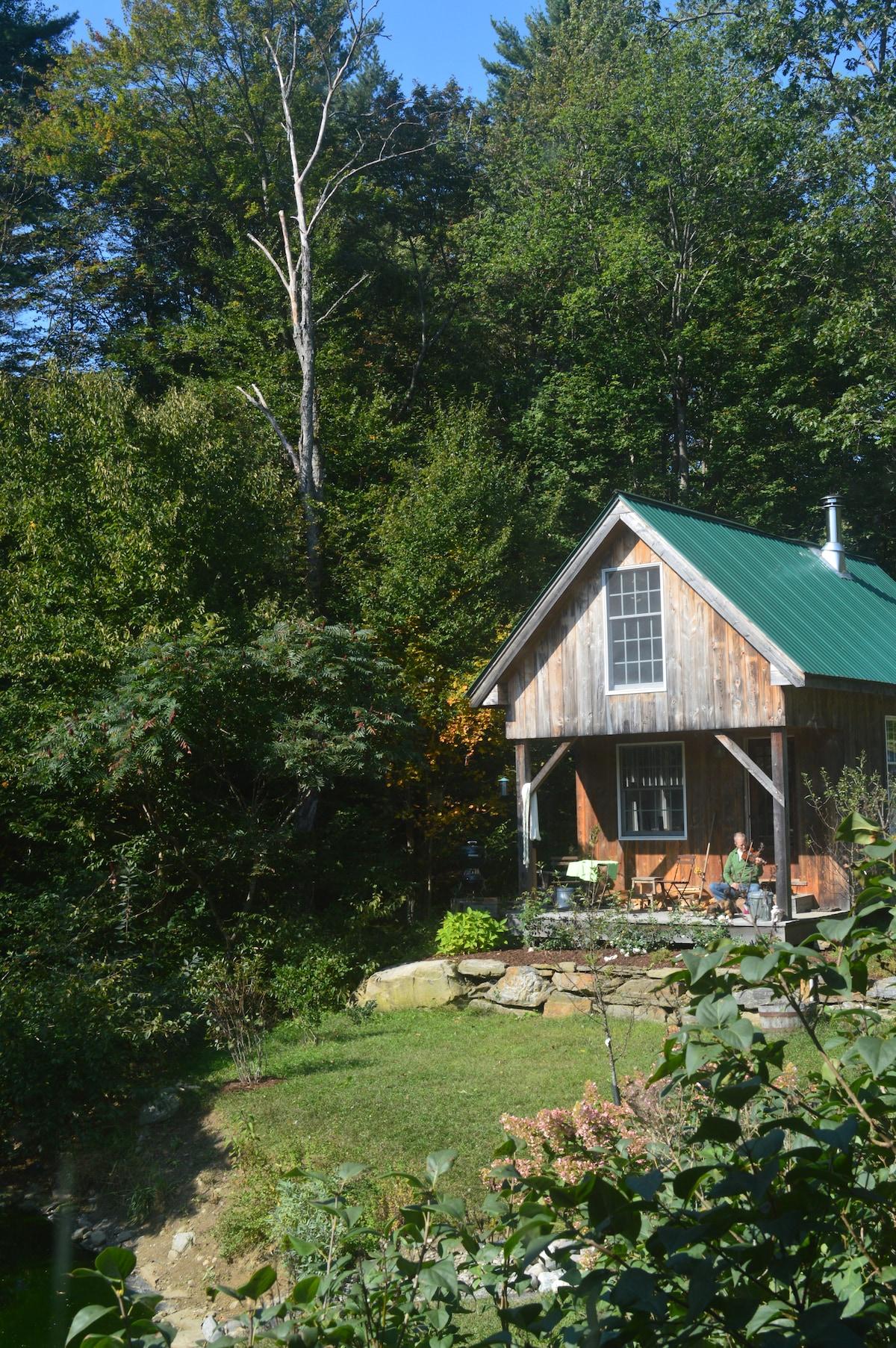 Solheim cabin in late summer