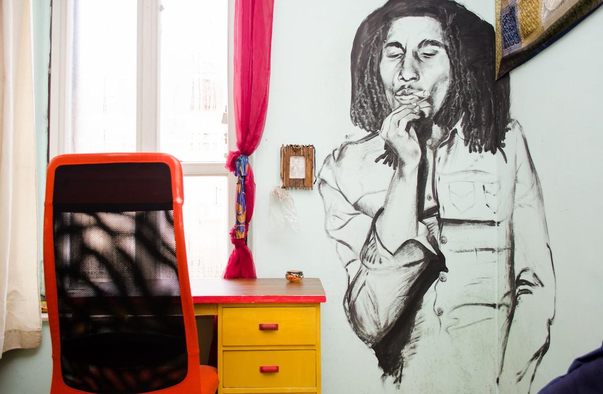 Etnic Room - Afresco handmade by Aladin