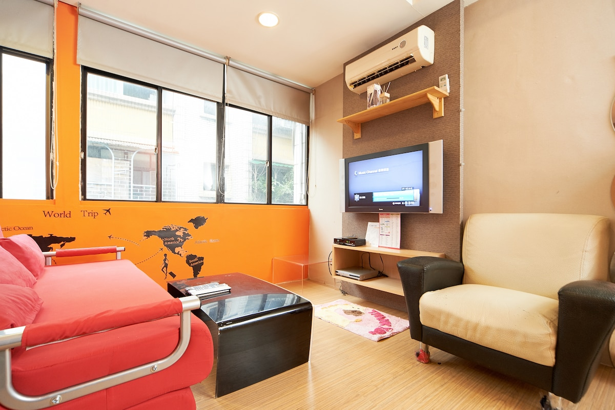 XL suite's 32 inches LCD TV  & brand new designer sofa for you.......^_^...