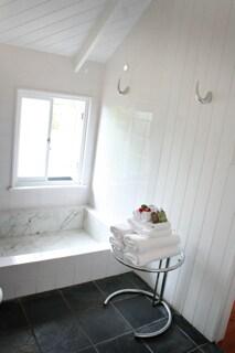 Ensuite with roman marble bath & Shower