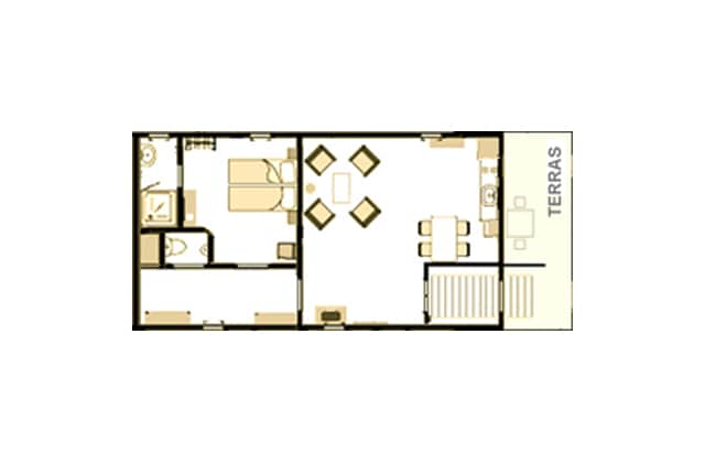 2-4 person Apartment on Loftboat Mizar
