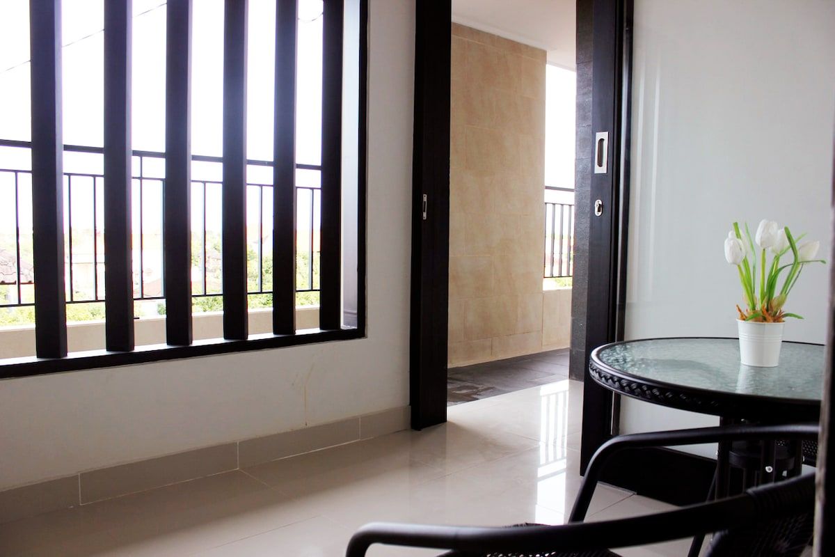 Breakfast Nook on the terrace of your room. FREE BREAKFAST is INCLUDED in PRICE