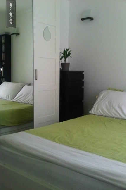 Chambre pour 2 pers