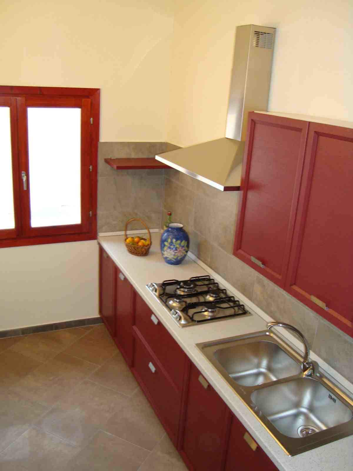 A new and fully equipped kitchen