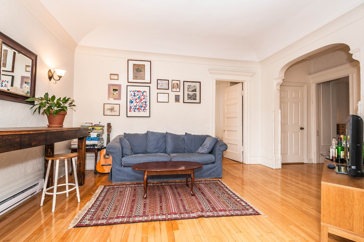 Spacious 2bdrm flat in the Mile end