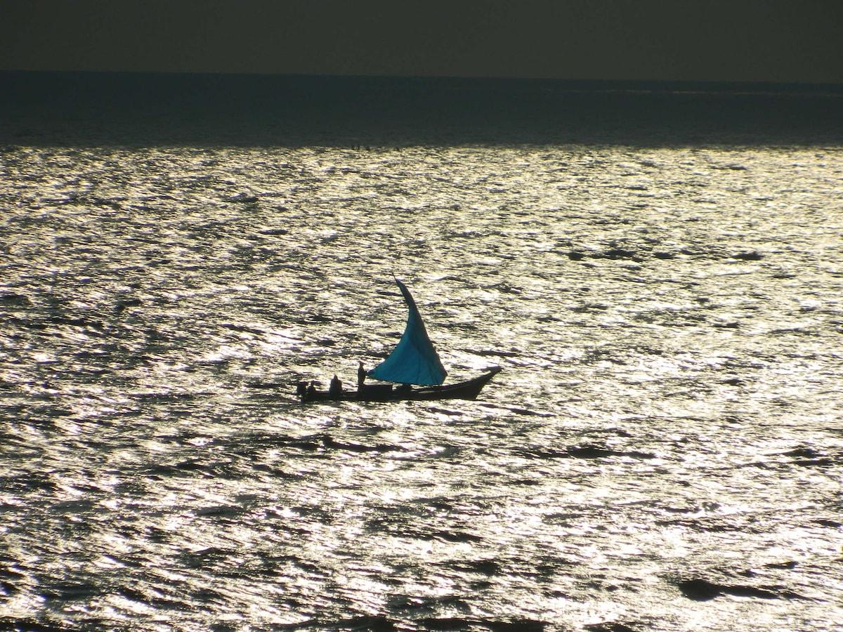 Morning fishermen in action..