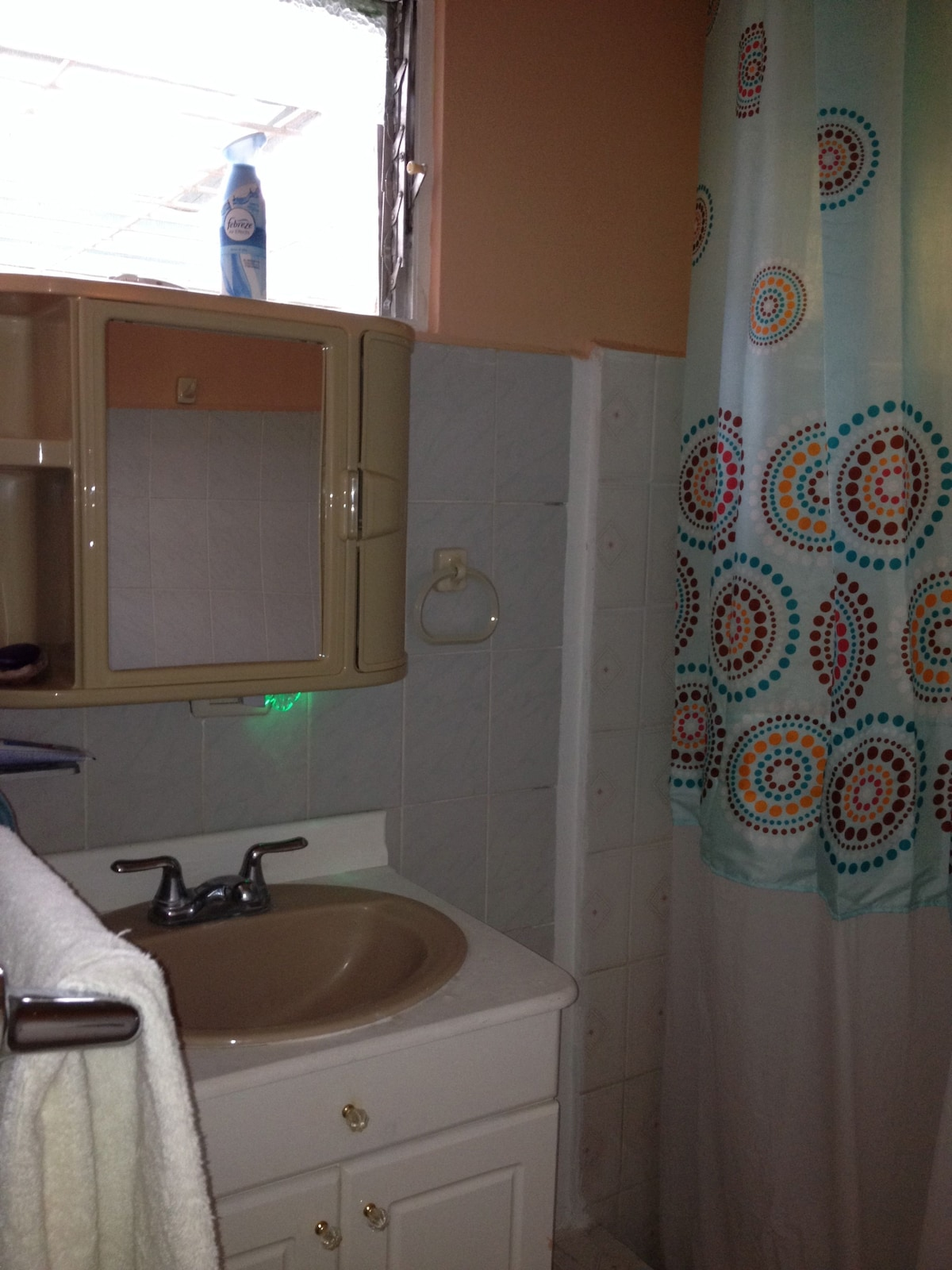This is a shared bathroom, unless no one is renting the second bedroom, then it's all yours!