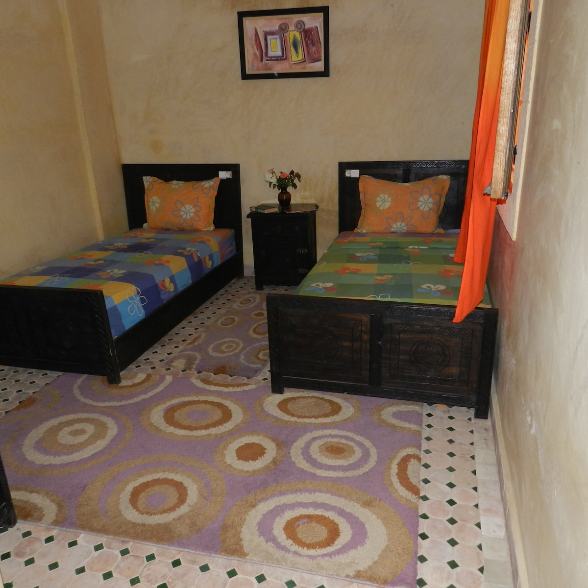 private room at riad tamazouzte