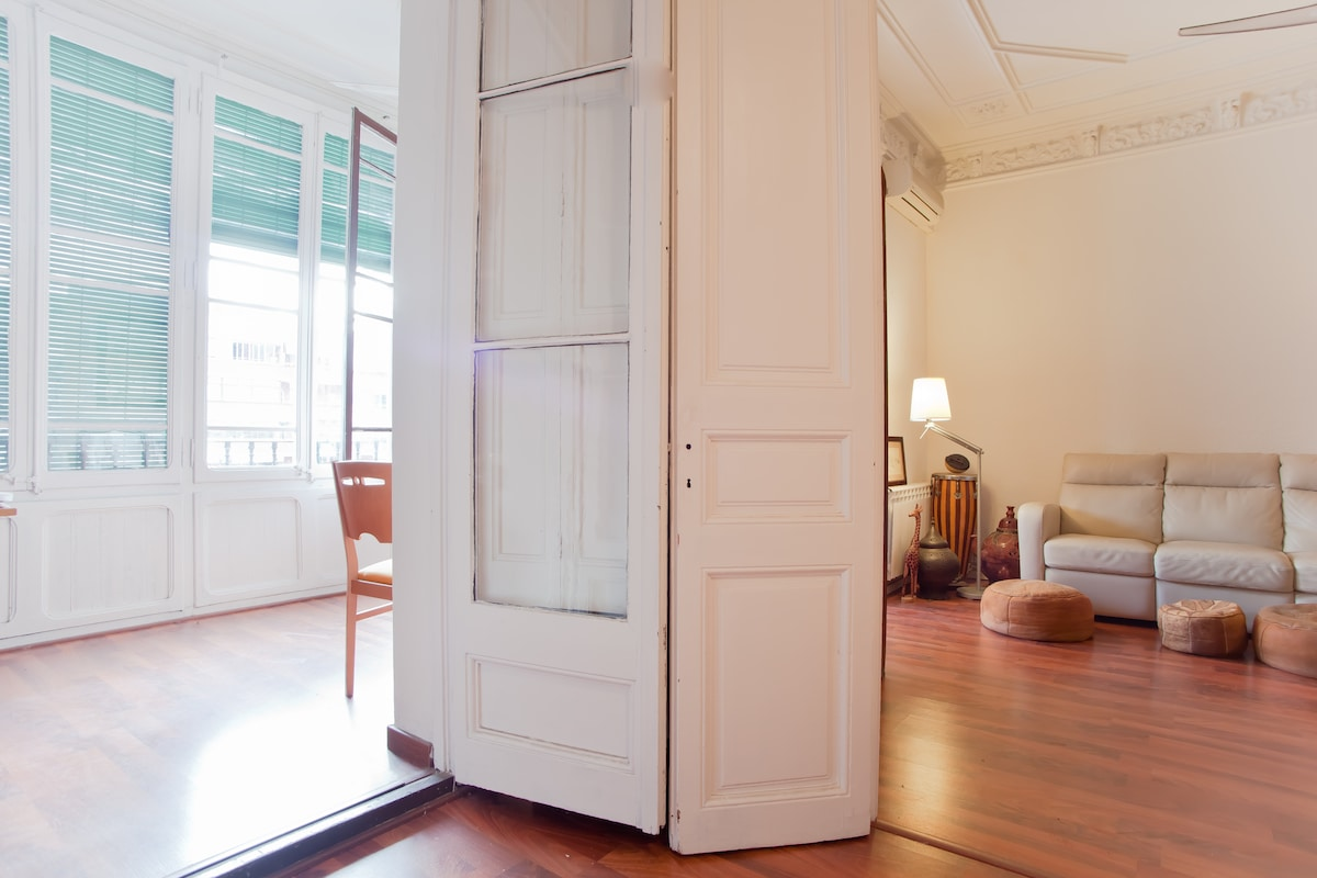 Do you see why it is more than just a room?: Access direct from the bed to the gallery and lounge.