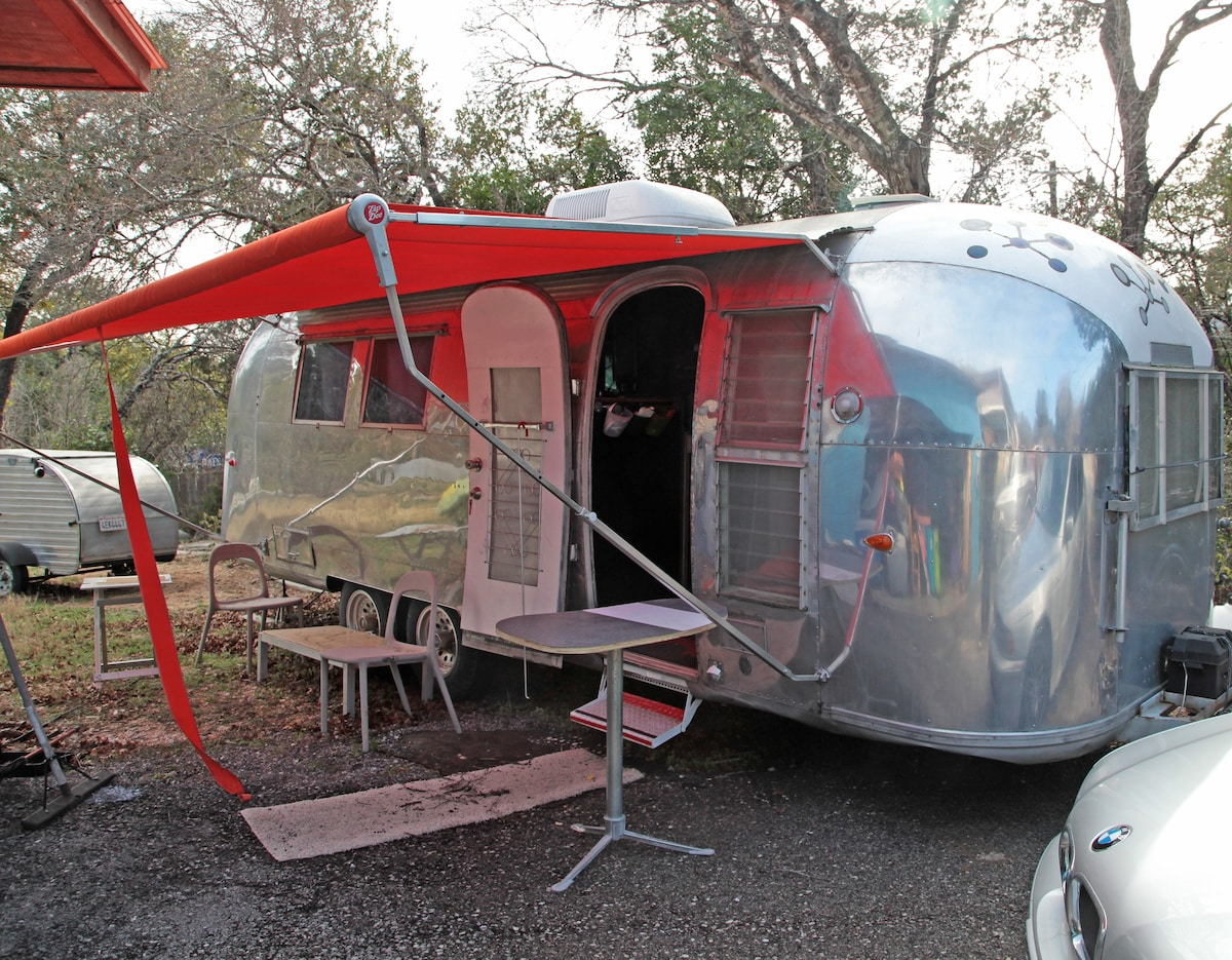 Vintage Airstream West of Downtown