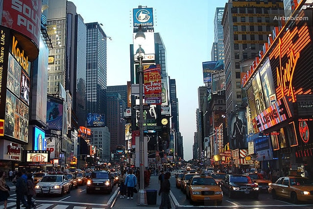 A Roomy Room in Times Square!