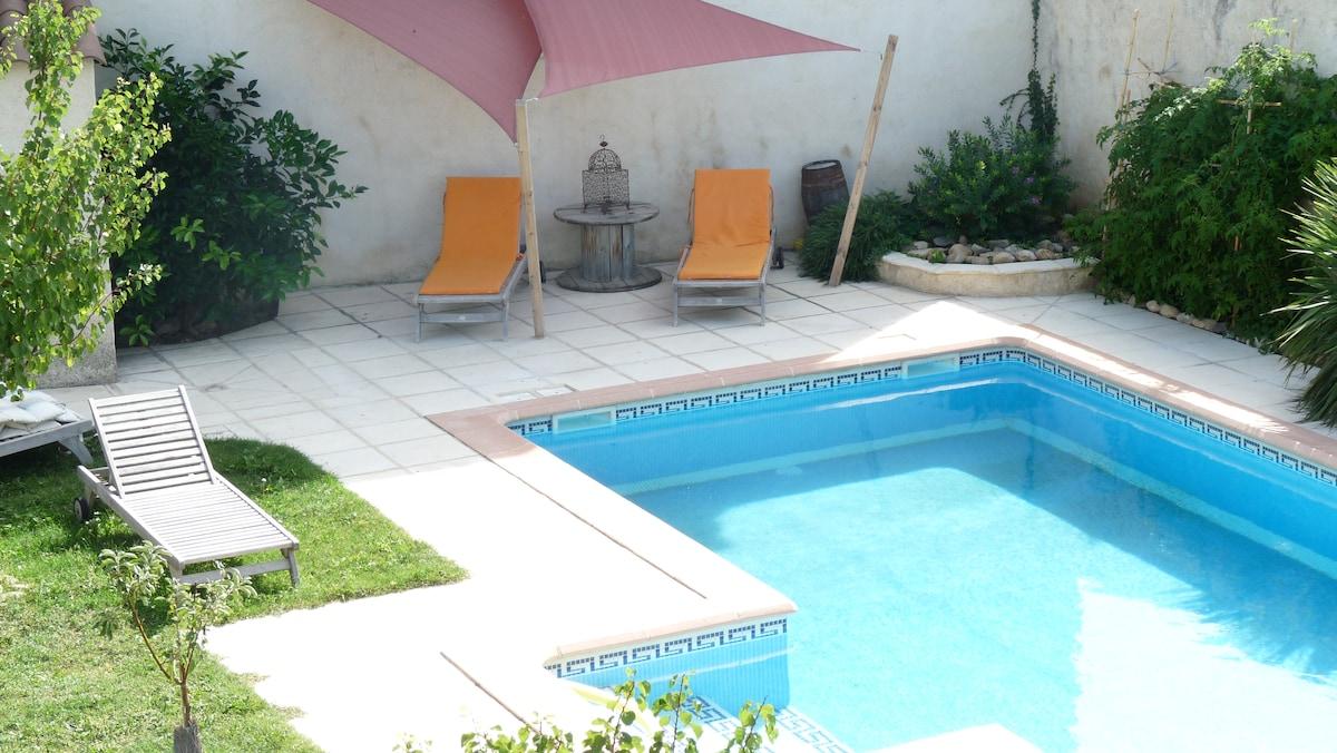 Gîte charme piscine 20m Montpellier