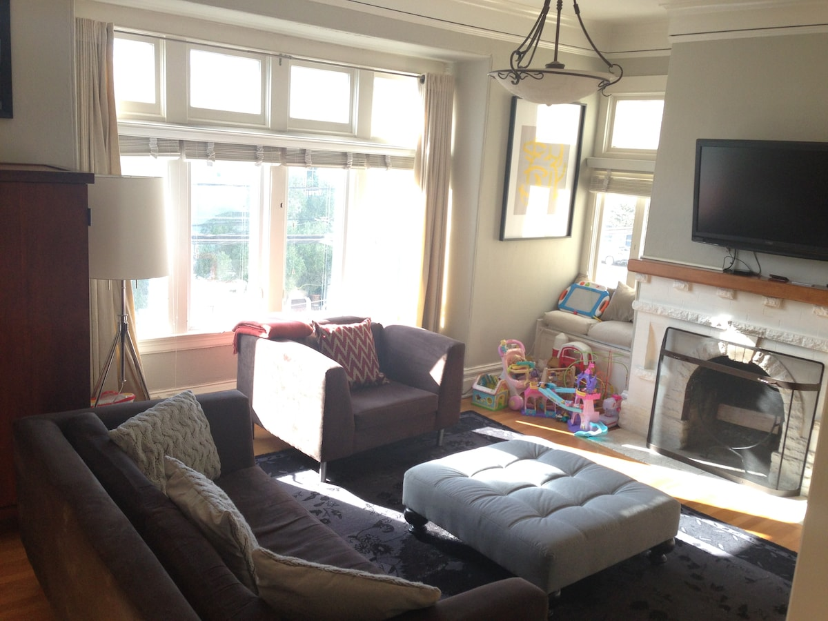 Large 3br flat near Baker Beach