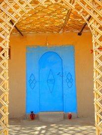 merzouga desert house , camel trek