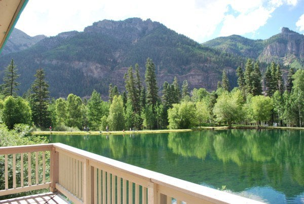 Lakefront Ouray Colorado House 2br