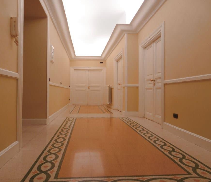 Ingresso e accesso alle camere del B&B Area Videosorvegliata  Entrance and access to the B&B rooms. CCTV