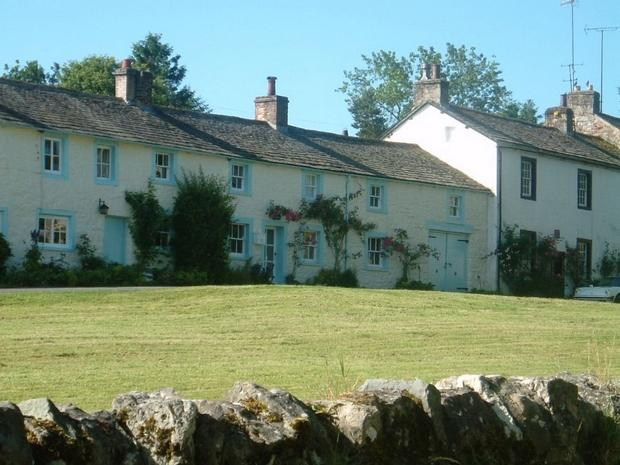 The Cottage, looking onto the village green.