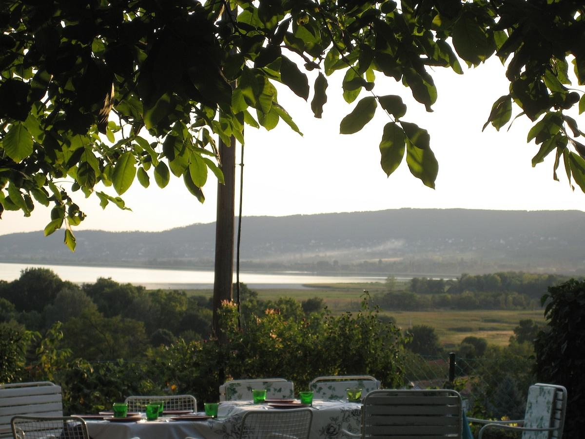 View on Lake Balaton