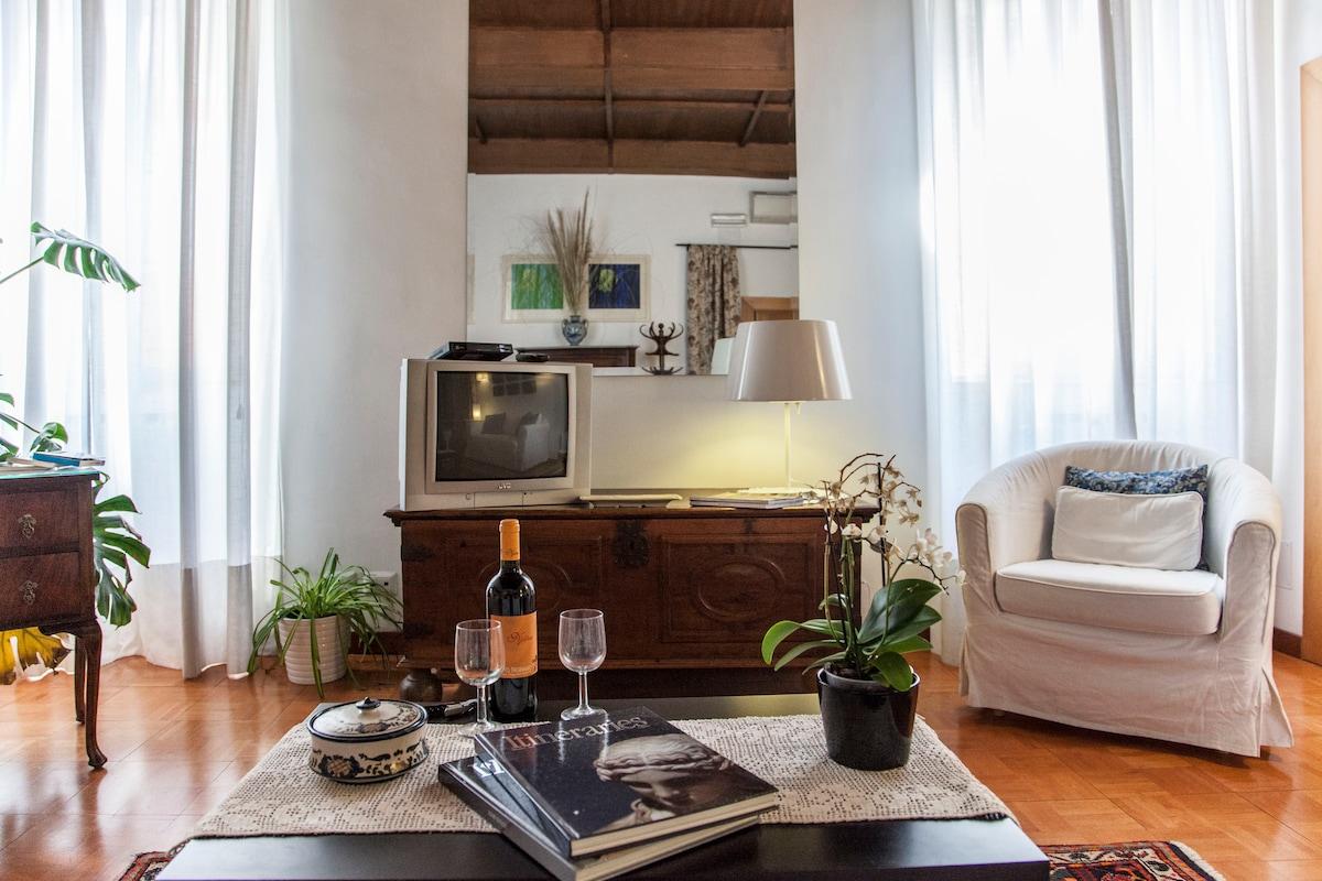 Spanish steps enchanting apartment