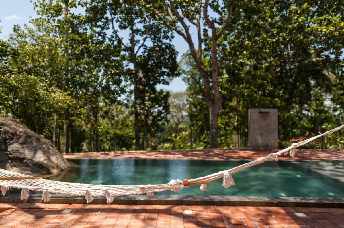 Stunning design villa in the jungle
